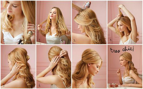 Easy Christmas Hairstyle Tutorials For Girls 2013 2014