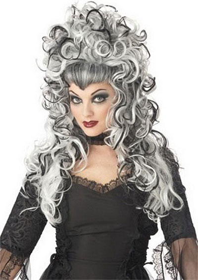 Brilliant Unique Yet Scary Hairstyles For Halloween For Girls Amp Women 2013 Hairstyles For Men Maxibearus