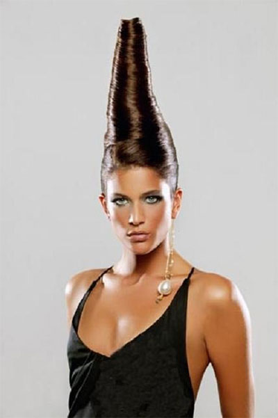Excellent Unique Yet Scary Hairstyles For Halloween For Girls Amp Women 2013 Hairstyles For Men Maxibearus