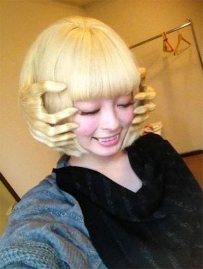 Swell Unique Yet Scary Hairstyles For Halloween For Girls Amp Women 2013 Hairstyles For Men Maxibearus