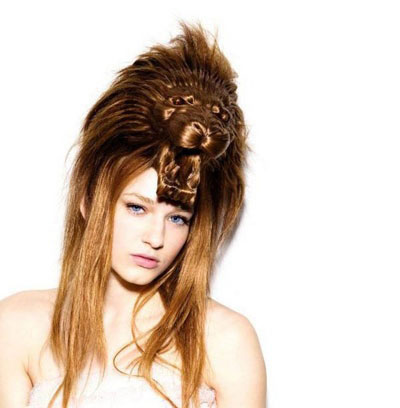 Terrific Unique Yet Scary Hairstyles For Halloween For Girls Amp Women 2013 Hairstyle Inspiration Daily Dogsangcom