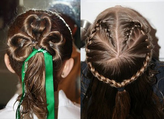Cute Yet Amazing Valentines Day Hairstyles Ideas For Girls Kids