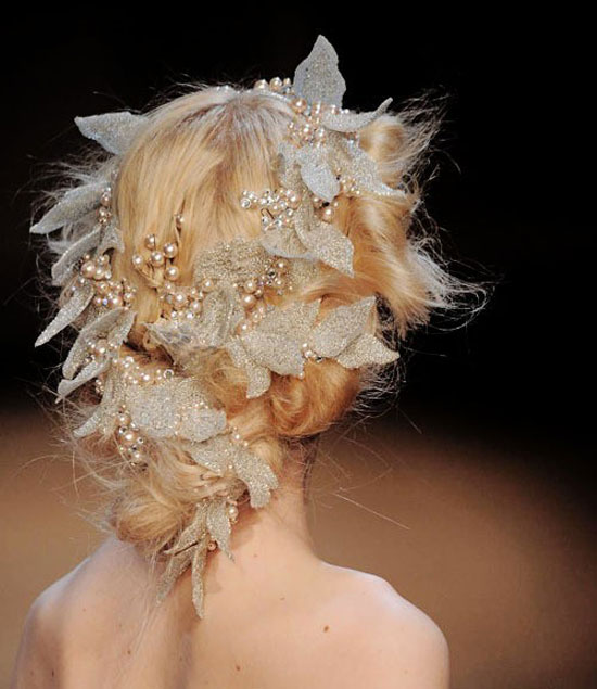 Sensational Cute Yet Crazy Christmas Tree Amp Party Hairstyles Amp Ideas 2012 For Short Hairstyles For Black Women Fulllsitofus