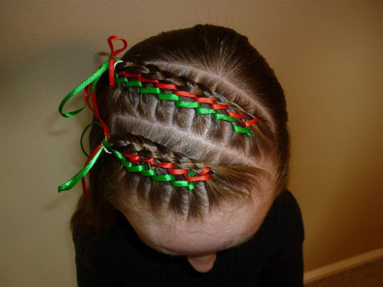 Fabulous Cute Yet Crazy Christmas Tree Amp Party Hairstyles Amp Ideas 2012 For Short Hairstyles For Black Women Fulllsitofus