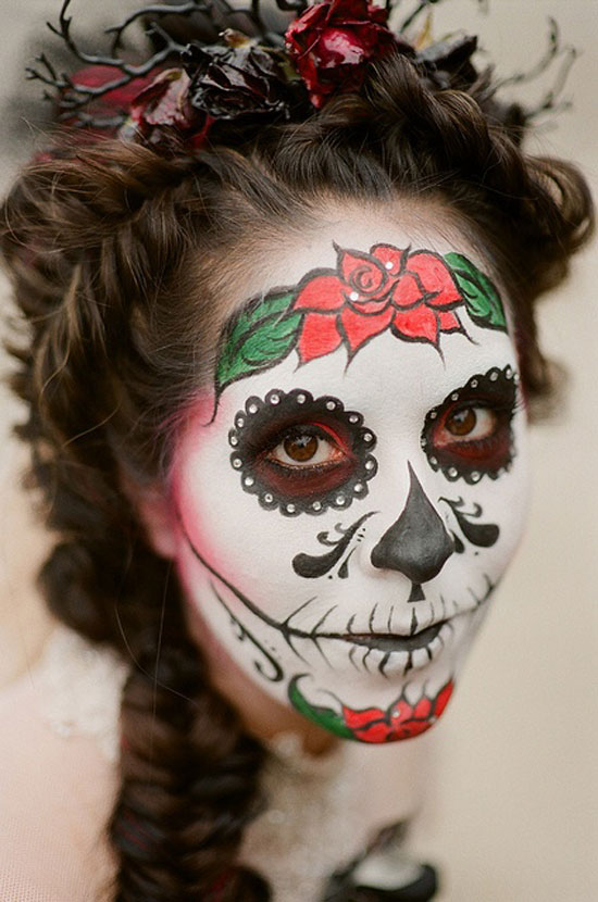 15 Creative & Scary Halloween Hairstyle Ideas 2012 For
