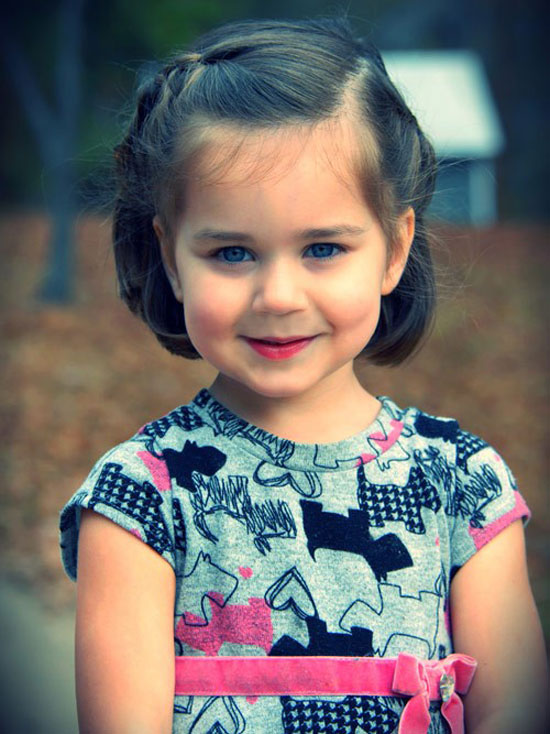 Best, Cute, Simple & Unique Little Girls & Kids Hairstyles & Haircuts