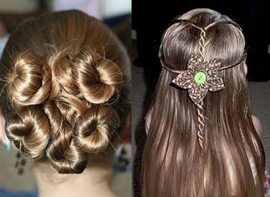 Super Best Cute Simple Amp Unique Little Girls Amp Kids Hairstyles Hairstyle Inspiration Daily Dogsangcom