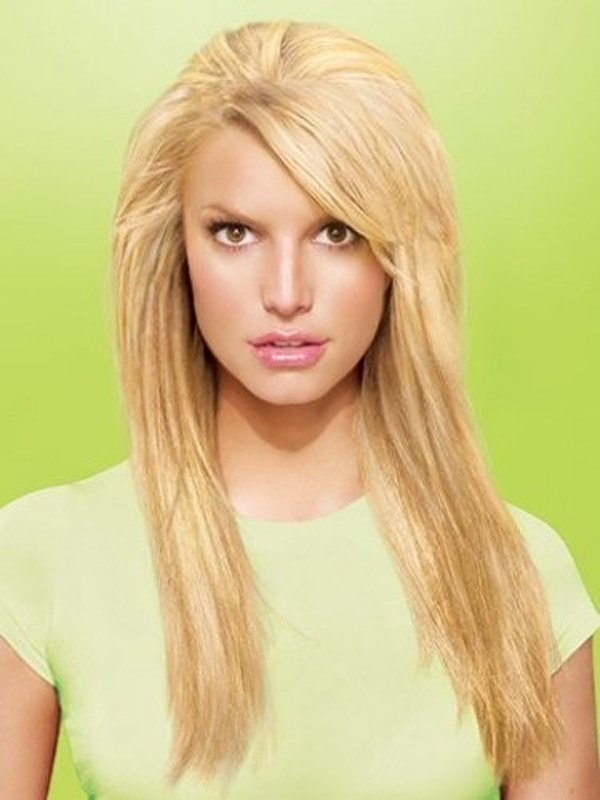 10 Pictures Of Jessica Simpson Medium Amp Long Hairstyles