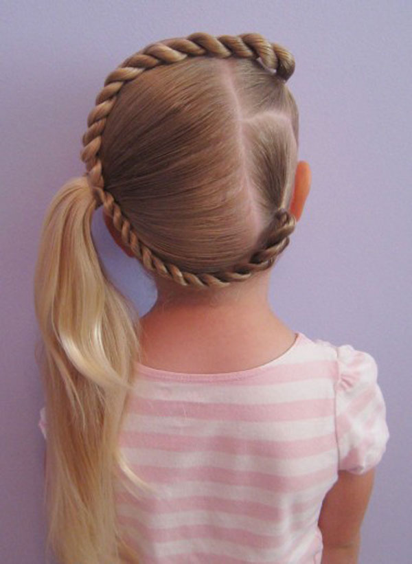 Cool, Fun & Unique Kids Braid Designs | Simple & Best Braiding Hairstyles For Kids 2012 | Girlshue