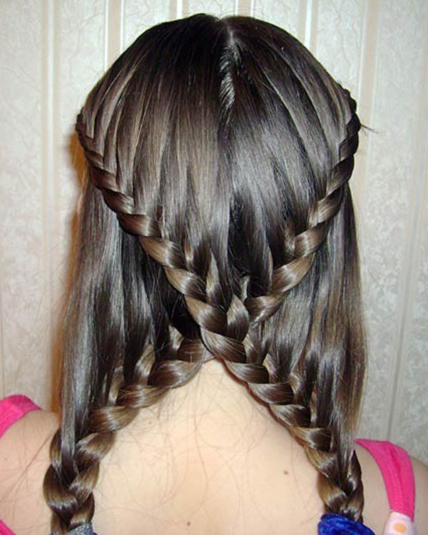Excellent How To Make Cute French Braids Braids Hairstyles For Men Maxibearus