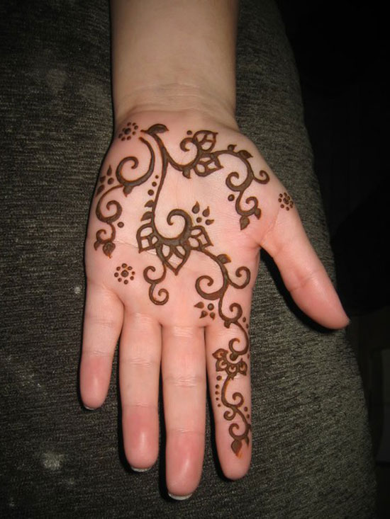 30 Easy \u0026 Simple Mehndi Designs \u0026 Henna Patterns 2012