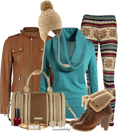 Best Polyvore Winter Fashion Trends & Ideas For Women 2014
