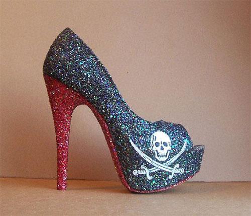 Best, Amazing Yet Scary Halloween High Heels For Girls & Women ...