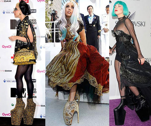 Pictures Of Lady Gaga In High Heels
