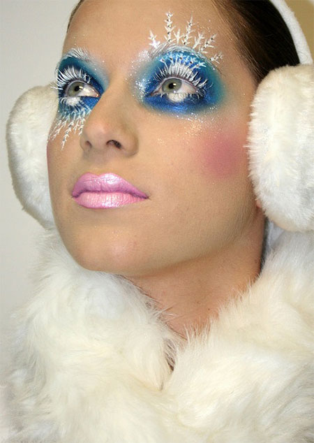 best snow queen white winter make up ideas amp looks 2013