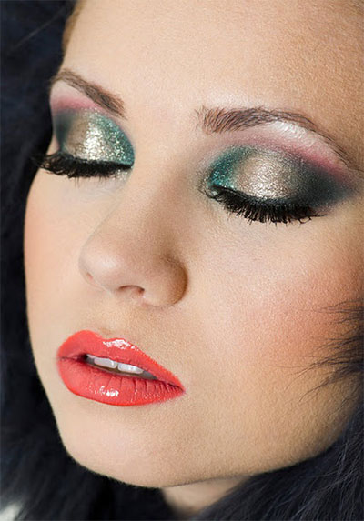 Amazing Make Up Looks For Christmas Party 2013/ 2014 - Awesome Makeup Looks