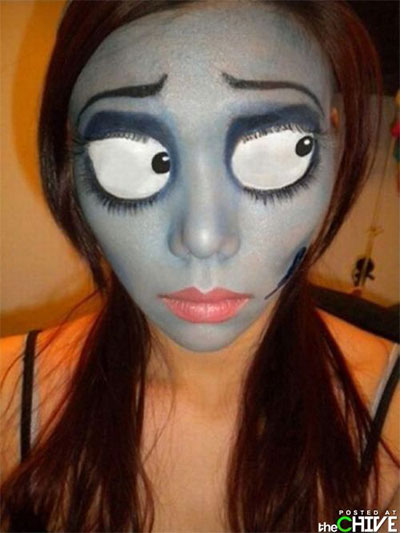 Amazing Yet Scary Halloween Make Up Ideas & looks For Girls 2013 ...