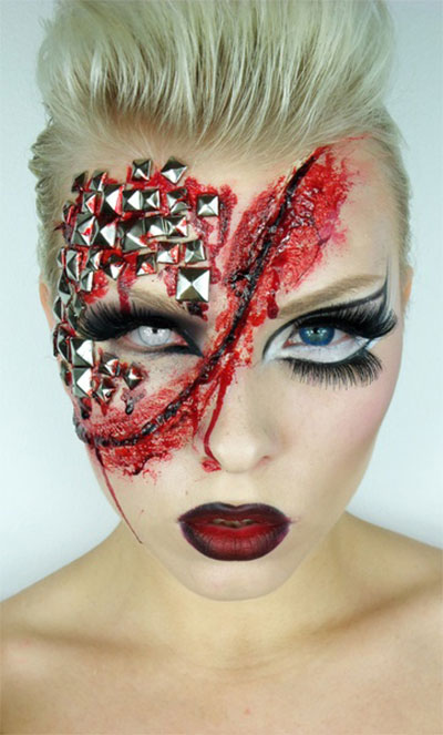 Halloween Costumes Ideas For Babies: Cool Yet Scary Halloween Make Up Ideas & Looks For Girls