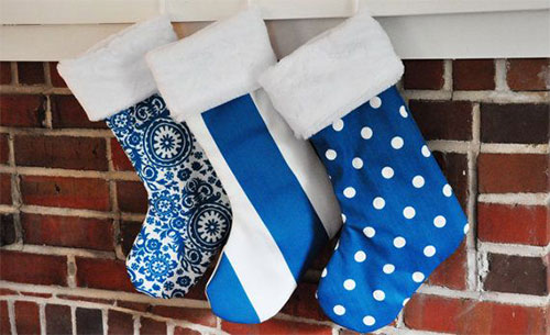 Unique Yet Cheap Large Christmas Stocking Patterns & Ideas 2013 ...