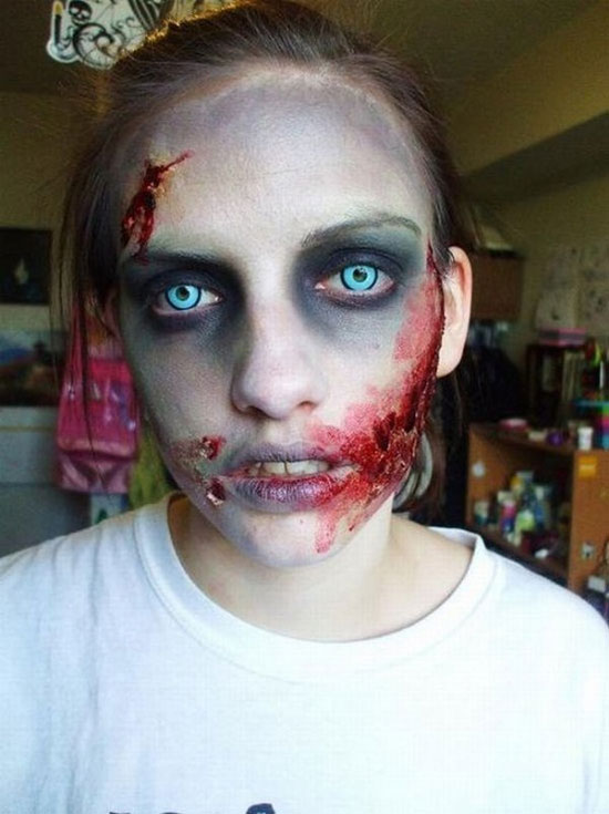 Awesome Scary Halloween Makeup