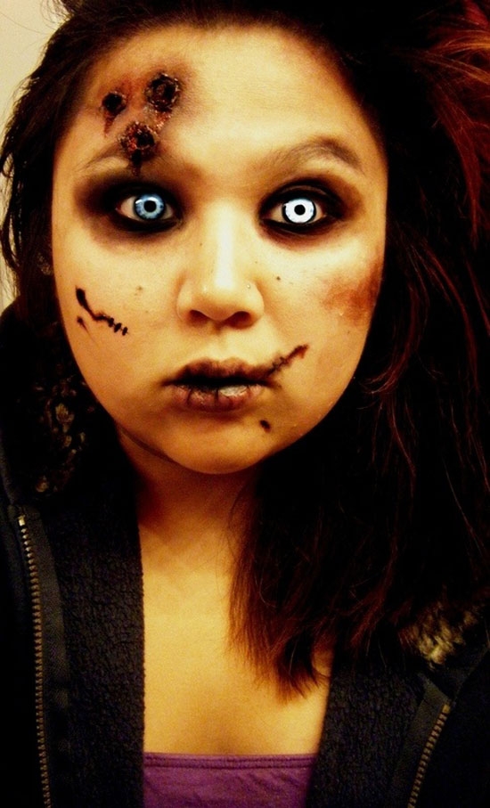 zombie make up ideas for halloween