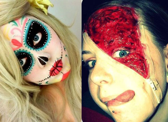 25 Best Crazy &amp Scary Halloween Make Up Looks &amp Ideas - Crazy Halloween Makeup