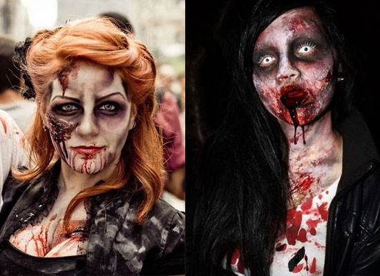 Stunning Super Scary Halloween Makeup Photos - harrop.us - harrop.us