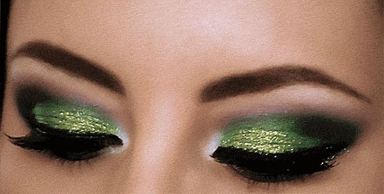 25 Best Green Smokey Eye Make Up Ideas Looks Amp Pictures