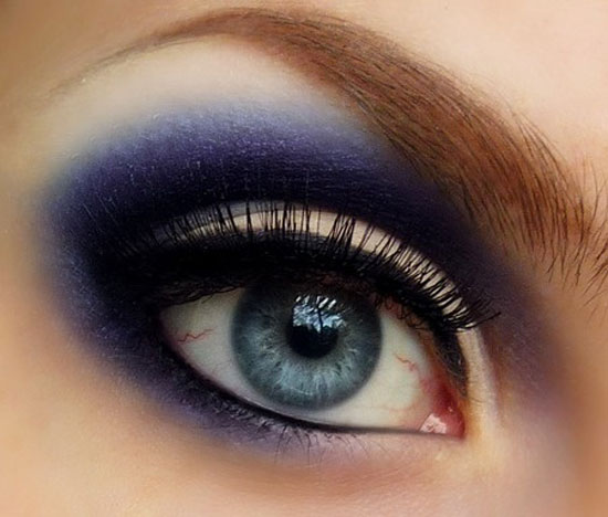 Image result for The latest model blue eye shadow