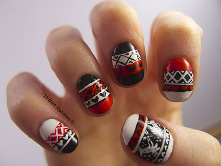 Christmas Sweater Nail Art Designs Amp Ideas 2013 2014 X
