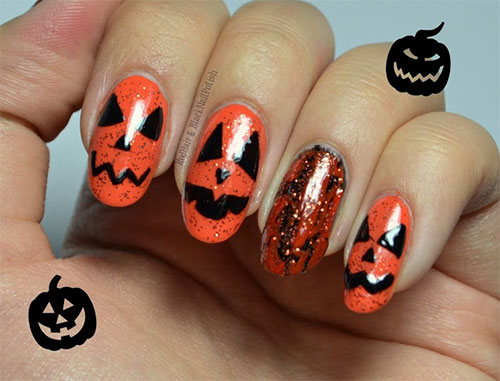 Scary Halloween Nail Art Designs Ideas Amp Stickers 2013 2014 Girlshue
