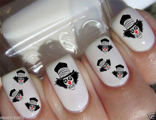 Simple Easy Halloween Nail Art Designs Ideas Stickers Girlshue