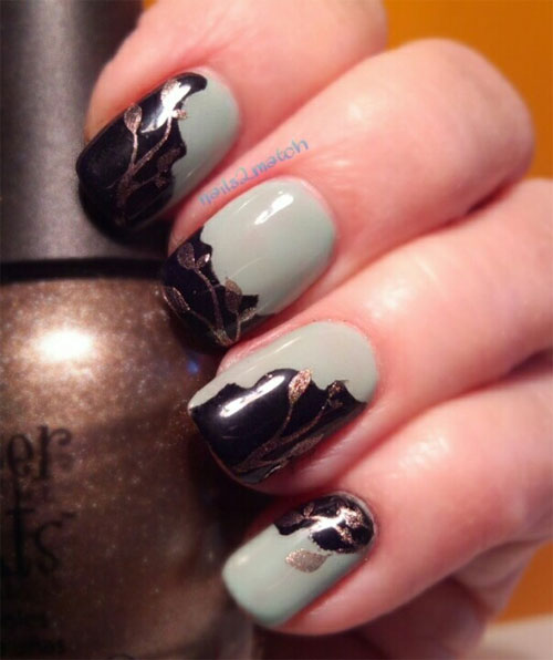 Autumn fall inspired nail art designs trends ideas for girls autumn inspired nails 2013 2014 prinsesfo Choice Image