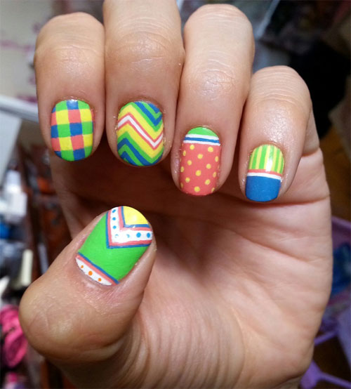 Awesome summer nail art designs ideas for girls 2013 girlshue cool summer nail art designs 2013 prinsesfo Image collections