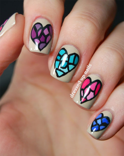 052a23ff1 Simple & Easy Nail Art Designs & Ideas For Girls 2013 | Girlshue