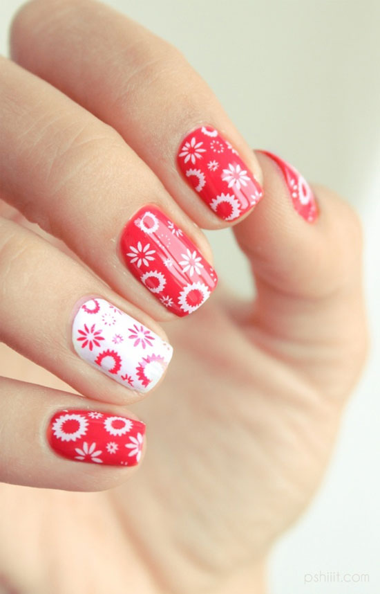 20 best summer nail designs ideas 2013 for girls girlshue cute summer nails prinsesfo Image collections