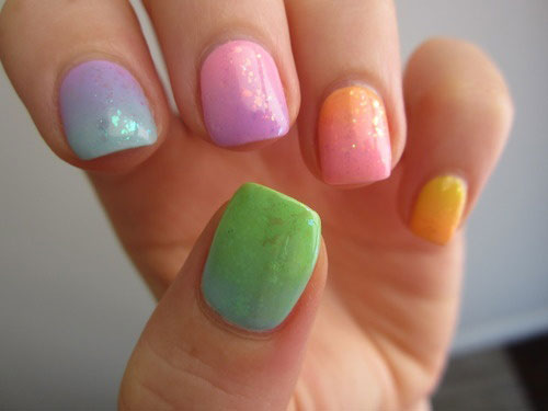 15 Best Short Acrylic Nail Art Designs Amp Ideas For Girls 2013 Girlshue