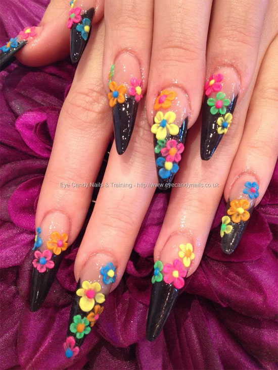 15 best 3d acrylic nail art designs amp ideas 2013 for