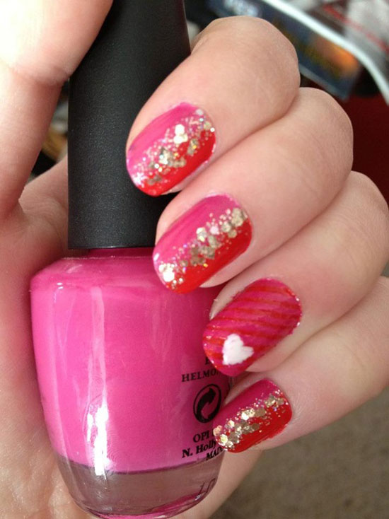 10 Best, Simple & Easy Valentine's Day Nail Art Designs ...