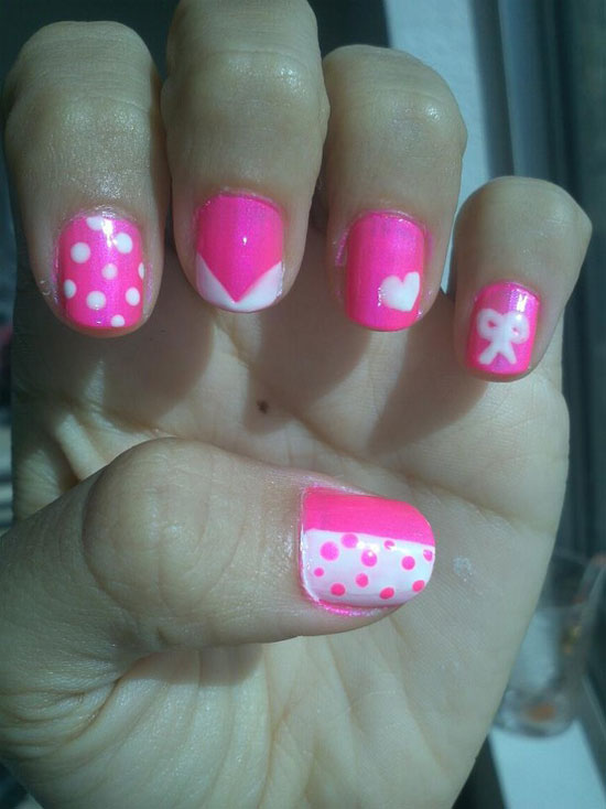 10 Best, Simple & Easy Valentine\'s Day Nail Art Designs 2013 For ...