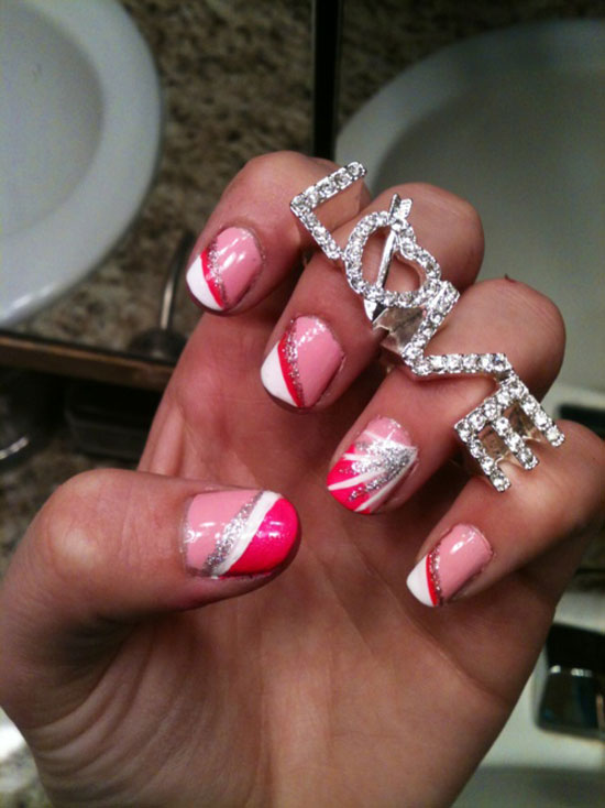 15 inspiring valentine�s day nail art designs amp ideas 2013