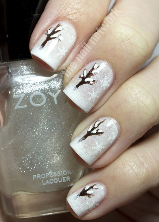 sparkles in polish - Nail Design Ideas 2012
