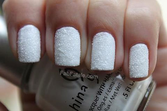 15 Cool Simple Easy Winter Nail Art Designs Ideas 20122013