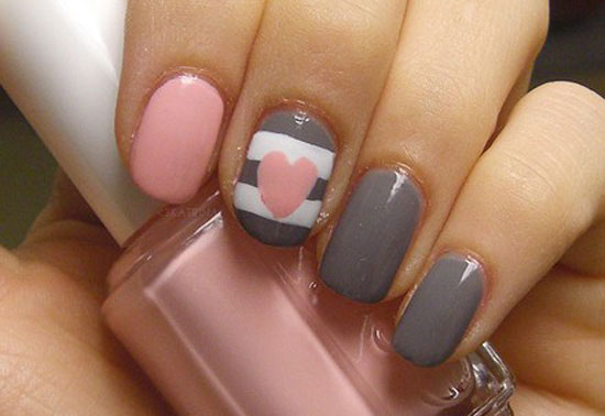 10 creative happy new year eve nail art designs 20122013 girlshue image source prinsesfo Image collections