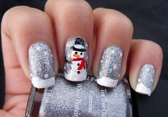 15 Best Cute Amazing Christmas Nail Art Designs Ideas Pictures