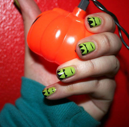 Nail Design Ideas 2012 best nail designs for short nails cute nail art designs 2012 Amazing Halloween Nail Art