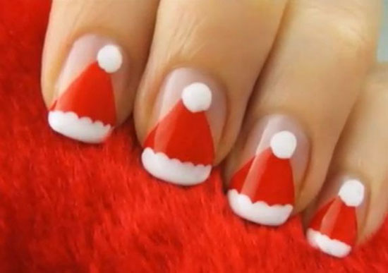 15 Simple Amp Easy Christmas Nail Art Designs Amp Ideas 2012 For Beginners Amp Learners Girlshue