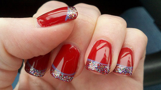 Easy christmas nail polish designs best nails 2018 15 simple easy christmas nail art designs ideas 2016 for prinsesfo Gallery