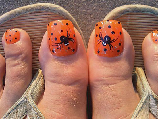 25 Simple Easy Amp Scary Halloween Nail Art Designs Ideas Amp Pictures 2012 Girlshue