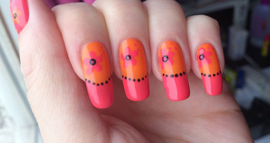 Pink and orange nail designs image collections nail art and nail pink and orange nail designs choice image nail art and nail pink and orange nail designs prinsesfo Image collections